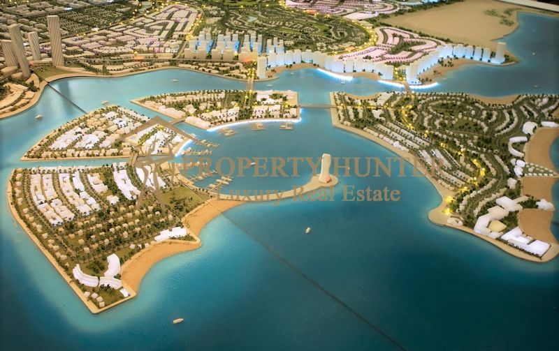 Lands  in  Lusail Waterfront by Installment-1