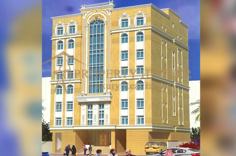 Brand New Hotel Apartments Building in Al Sadd -1