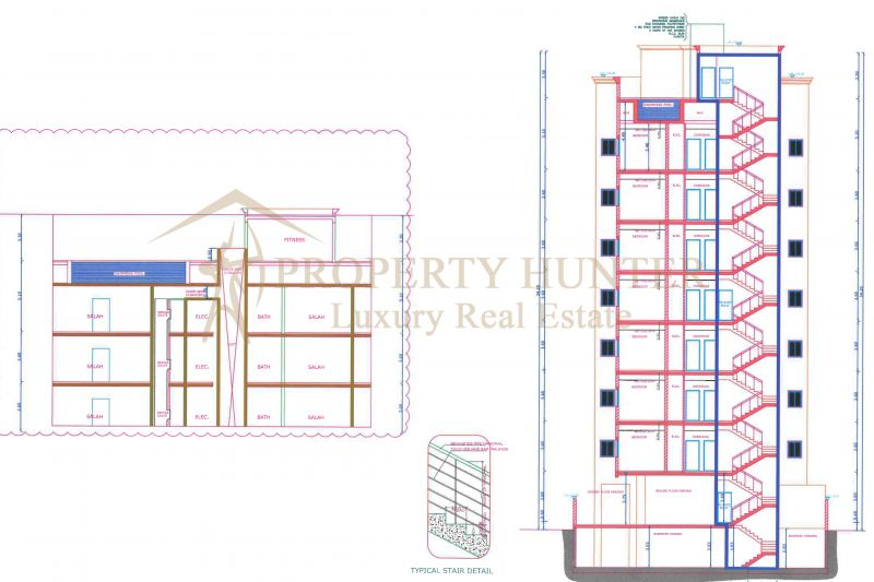 Building for Hotel Apartments in Um Ghuwailina -2