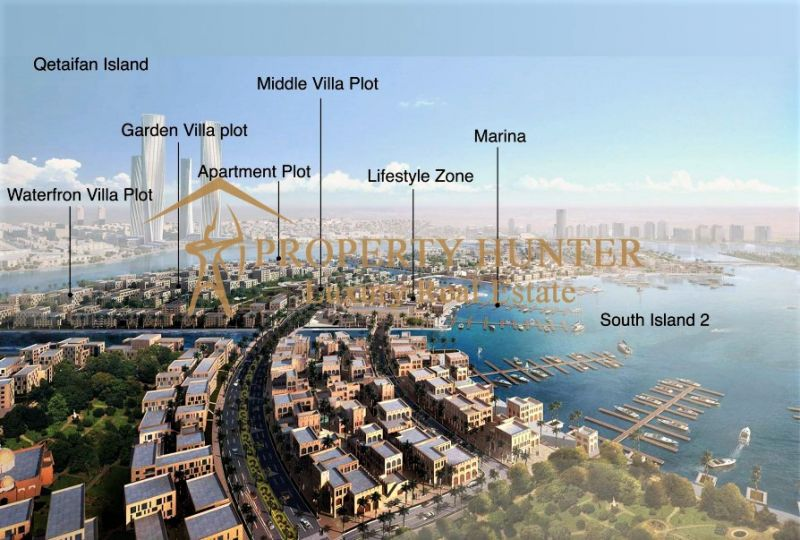 Lands  in  Lusail Waterfront by Installment-3