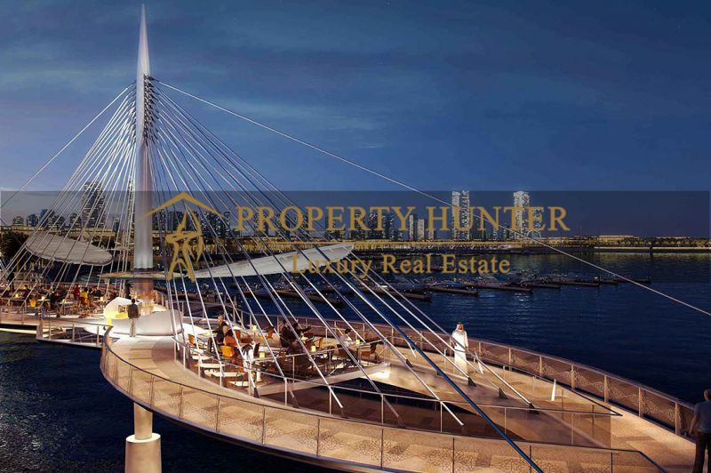Lands  in  Lusail Waterfront by Installment-4