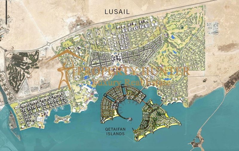 Lands  in  Lusail Waterfront by Installment-2