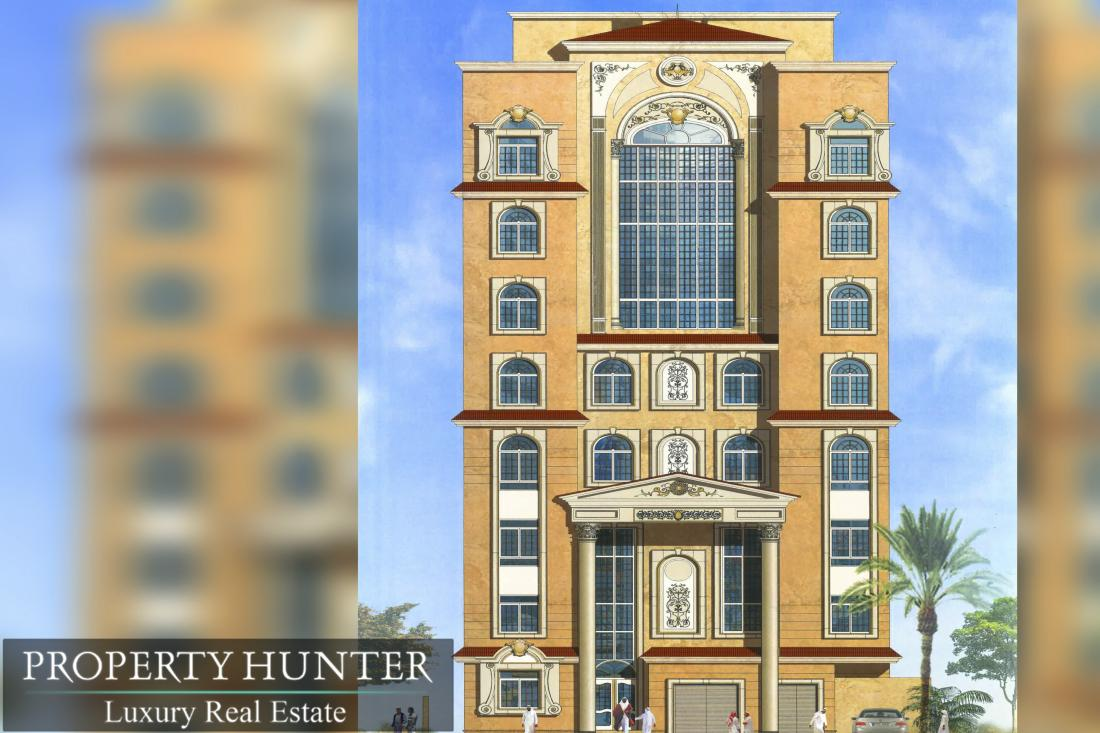 Building for Hotel Apartments in Um Ghuwailina