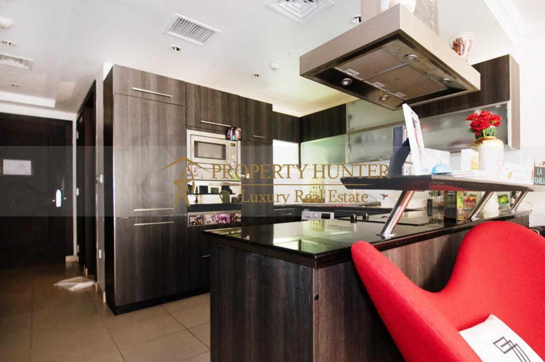 Studio Apartment For Sale in Pearl Qatar